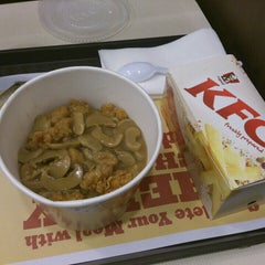 Photo taken at KFC by o o. on 3/12/2014