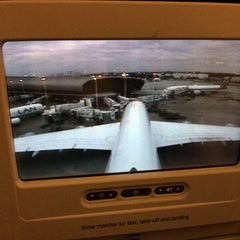 Photo taken at Lufthansa Flight LH 463 by Tero R. on 11/16/2013