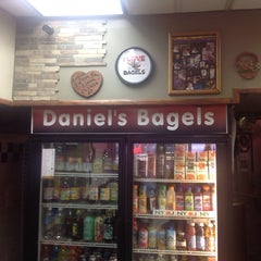 Photo taken at Daniel's Bagels by Randie C. on 12/17/2013