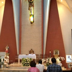 Photo taken at Chapel of St. Benedict by Roderick G. on 4/2/2013