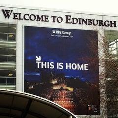 Photo taken at Edinburgh Airport (EDI) by Nataliya O. on 1/14/2013
