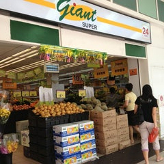 Photo taken at GIANT Super by Karen C. on 8/14/2013