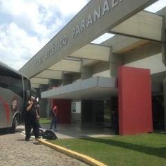 Photo taken at Centro de Treinamento do Caju by Weslley R. on 10/21/2012