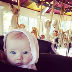 Photo taken at Congress Park Carousel by Shaun W. on 10/25/2014