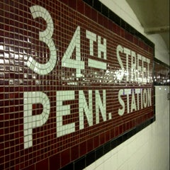 Photo taken at MTA Subway - 34th St/Penn Station (A/C/E) by King Garcia on 2/17/2013