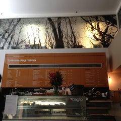 Photo taken at Taglio Pizza Kitchen by Vicki P. on 1/31/2013