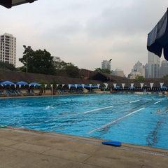 Photo taken at Swimming Pool by Pornpim N. on 3/21/2014