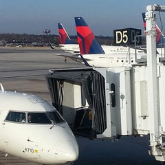 Photo taken at BWI Gate D5 by Addison S. on 3/5/2013