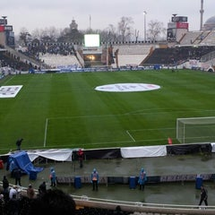 Photo taken at Beşiktaş İnönü Stadyumu Yeni Açık by 🏁мعђмعт__¹9º³🏁 on 3/16/2013