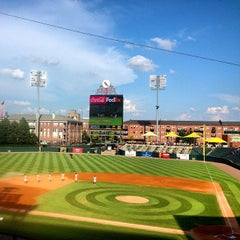Photo taken at AutoZone Park by Red B. on 7/20/2013