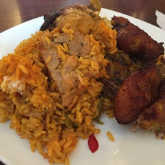 Photo taken at Moros Cuban Restaurant by CJ Y. on 7/9/2015