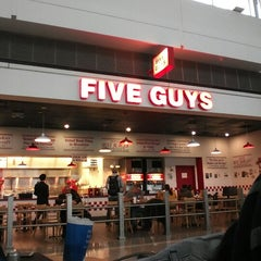 Photo taken at Five Guys by Shaimaa F. on 12/21/2012