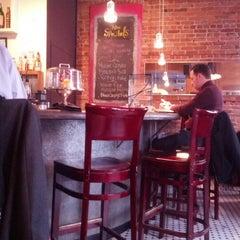 Photo taken at Café Zola by Shaimaa F. on 3/1/2013