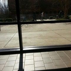 Photo taken at Planetary Hall - George Mason University by Nikki M. on 3/27/2013