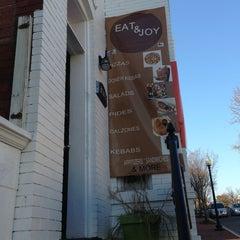 Photo taken at Eat & Joy by Damron C. on 2/24/2013