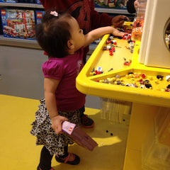 Photo taken at The LEGO Store by Bubber C. on 4/21/2013