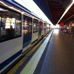 Photo taken at Metro Aluche by Quique L. on 12/2/2012