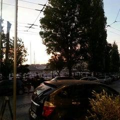 Photo taken at Πασαλιμάνι (Pasalimani) by Joanna T. on 11/8/2015