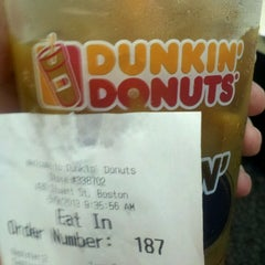 Photo taken at Dunkin' Donuts by Robbie L. on 5/9/2013
