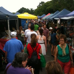 Photo taken at Davies Park Market by Ian K. on 1/8/2011