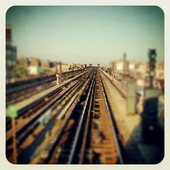 Photo taken at MTA Subway - 7 Train by Trevor L. on 6/15/2012