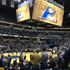 Photo taken at Bankers Life Fieldhouse by Dusty K. on 3/13/2013