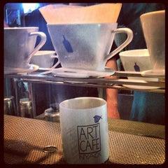 Photo taken at Art Cafe of Nyack by Lauren  on 1/25/2013
