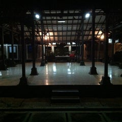 Photo taken at Taman Budaya Jawa Tengah by onard o. on 12/19/2012