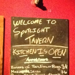 Photo taken at Spotlight Tavern by Bianca C. on 2/28/2013