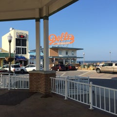 Photo taken at Rehoboth Beach Bandstand by Jan C. on 3/21/2015