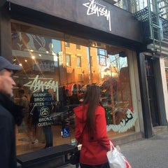 Photo taken at Stussy New York by Victor V. on 12/7/2013