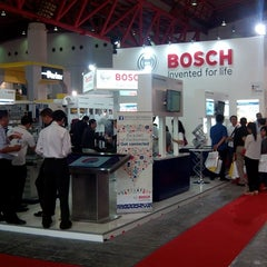Photo taken at JIExpo Hall B by Adrian M. on 9/7/2013