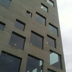 Photo taken at Folkwang-Universität - SANAA-Gebäude by Frau P. on 11/10/2012