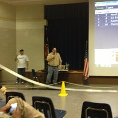 Photo taken at Pine Tree Junior High by Robert W. on 1/26/2013