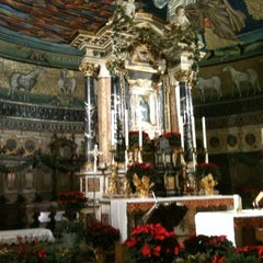 Photo taken at Basilica S.Cosma e Damiano by Marcos M. on 12/26/2013