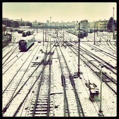 Photo taken at Stazione Torino Porta Nuova by Nicola B. on 3/18/2013