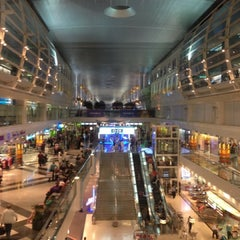 Photo taken at Dubai International Airport (DXB) | مطار دبي الدولي by Barbara D. on 7/5/2013
