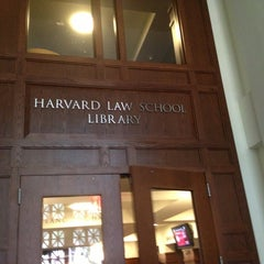 Photo taken at Harvard Law School Library by Like. N. on 10/5/2013