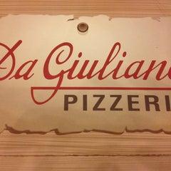 Photo taken at Pizzeria Da Giuliano by Andrea T. on 4/9/2013