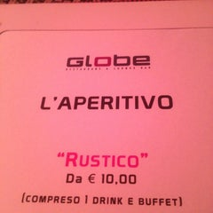 Photo taken at Globe Restaurant & Lounge Bar by Andrea T. on 1/12/2013