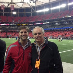 Photo taken at Atlanta Falcons Owners Club by Brandon B. on 12/15/2013