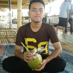 Photo taken at Pantai tanjung kait by Muhammad F. on 1/31/2014