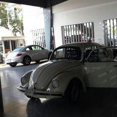 Photo taken at Volkswagen Las Palmas Automotores De Morelos by Mily S. on 6/5/2014