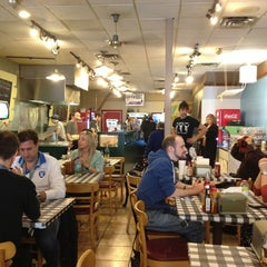Photo taken at Wholly Cow Burgers by Randall P. on 3/10/2013