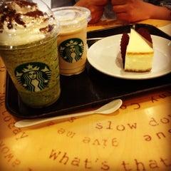 Photo taken at Starbucks Coffee ルミネ北千住店 by Kento T. on 5/11/2013