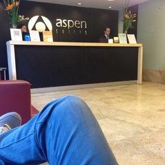 Photo taken at Aspen Suites Hotel by Santi M. on 5/10/2014