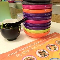 Photo taken at Yo! Sushi by Karen R. on 9/18/2012