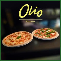 Photo taken at Olio Pizzeria by Probrandz M. on 8/3/2013