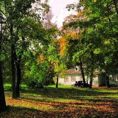 Photo taken at Берёзовая роща by Natalie M. on 9/29/2012