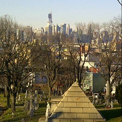 Photo taken at The Green-Wood Cemetery by Ed A. on 12/28/2012